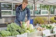 Graham Dinkel from Dinkel's Veggies in Wasilla.