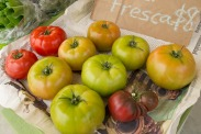 Heirloom tomatoes from Ba-Lescas Brothers.